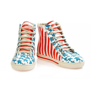 Stars Sneaker Boots WCOC2304
