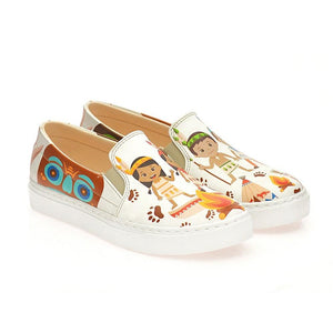 Indian Children Slip on Sneakers Shoes WCOC4128