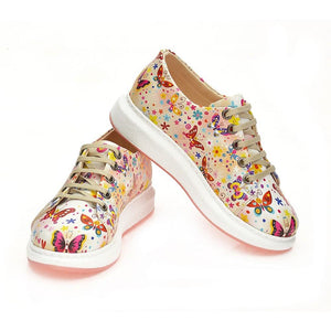 Cute Butterflies Slip on Sneakers Shoes WCOC501