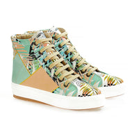 Palm Tree Sneaker Boots WCV2029 (1405820764256)