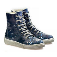 Astrology Short Boots WJAS118 (1421228933216)