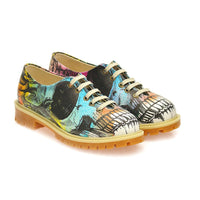 Colored Skull Oxford Shoes WTMK6515 (1405823549536)