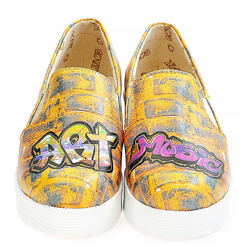 Art Slip on Sneakers Shoes WVN4226 (506283032608)