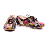 Roses Ballerinas Shoes YAB103 (1421236600928)