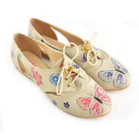 Flowers Ballerinas Shoes YAB107 (1421236994144)