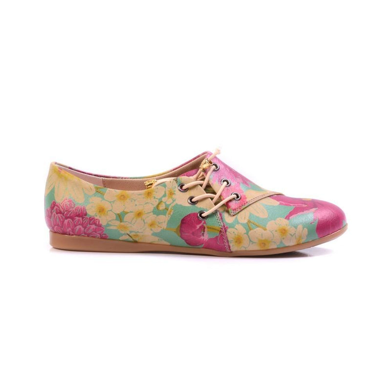 Flowers Ballerinas Shoes YAB203 (1421237551200)