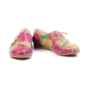 GOBY Flowers Ballerinas Shoes YAB203