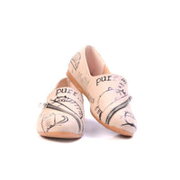 Sleepy Cat Ballerinas Shoes YAB305 (1421238272096)