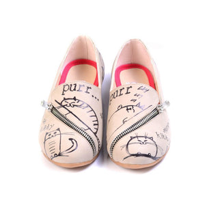 GOBY Sleepy Cat Ballerinas Shoes YAB305