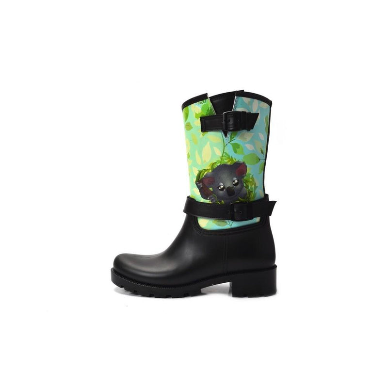 Happy Koala Short Rain Boots YB105 (1332766048352)