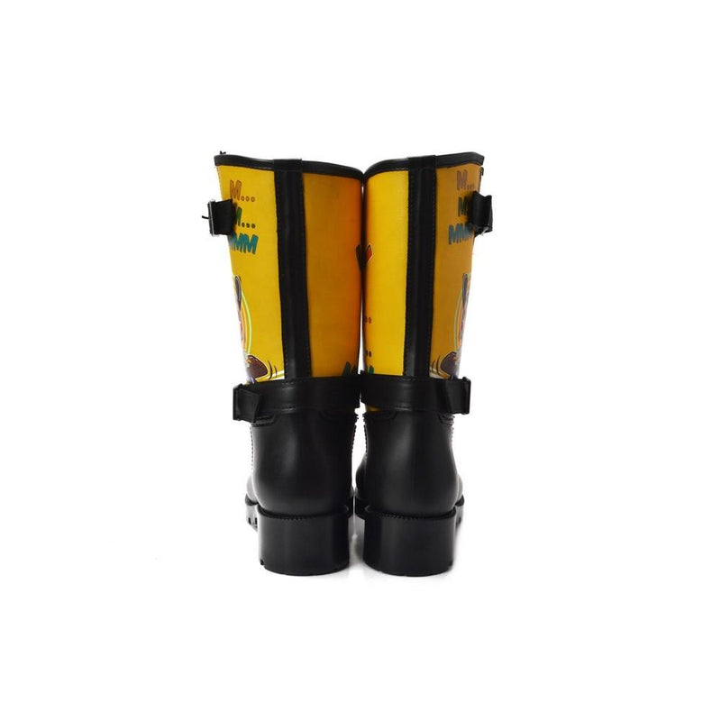 Let's Work Short Rain Boots YB106 (1332766081120)
