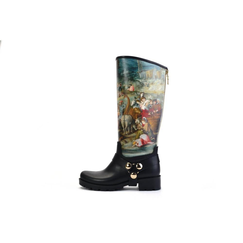 Ancient Art Long Rain Boots YB202, Goby, WALKRAIN Long Rain Boots