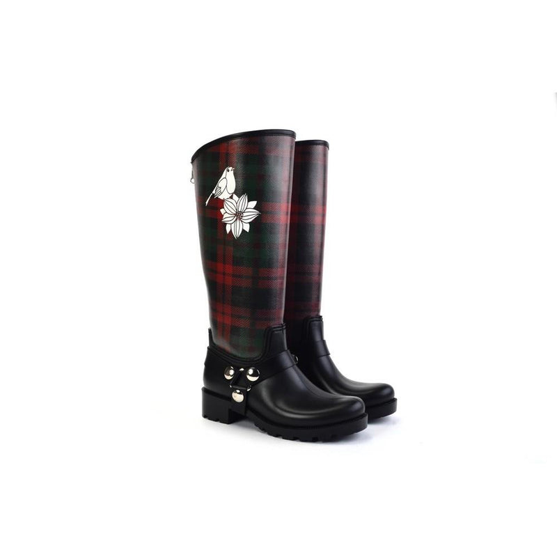 Sparrow and Rice Long Rain Boots YB204 (1332766605408)