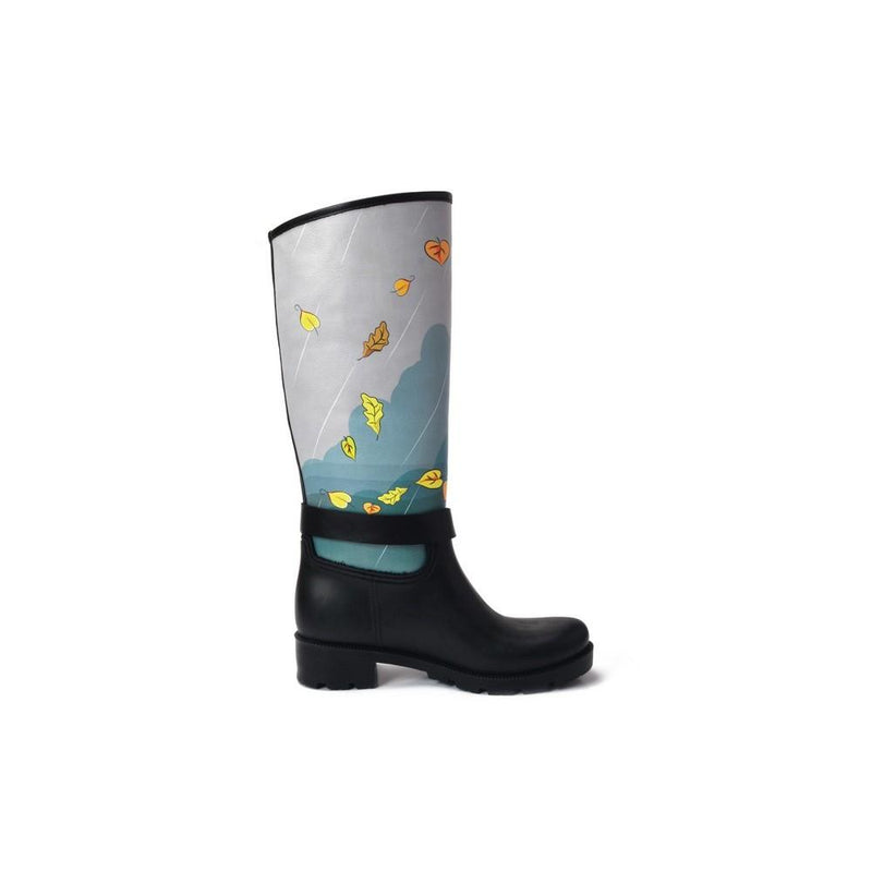 Hello Autumn Long Rain Boots YB308 (1332767490144)