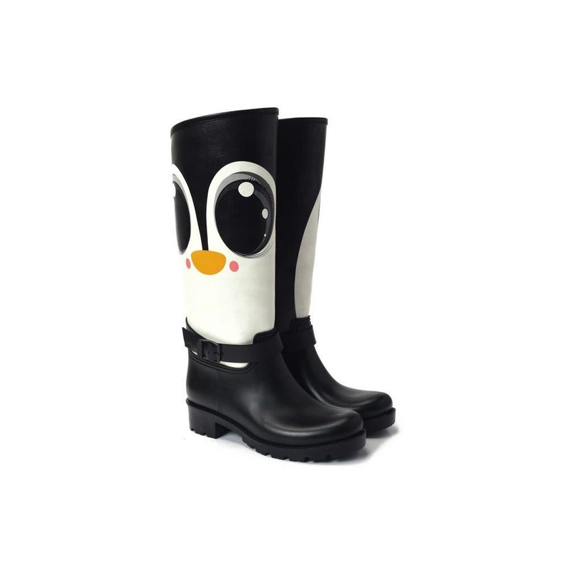 Black Eyed Tweety Long Rain Boots YB309 (1332767522912)
