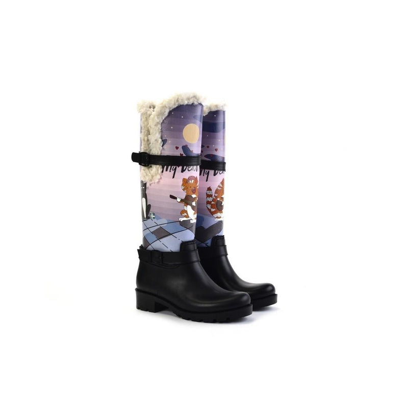 Cat's Love Long Rain Boots YB405 (1332768178272)