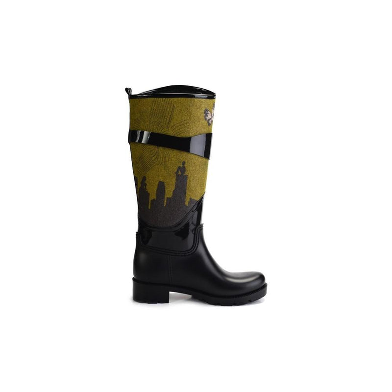 Blue Eyes Women Long Rain Boots YB501 (1332768473184)