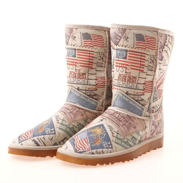 United State Mail Long Boots MD017