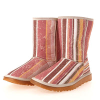 Retro Striped Long Boots MD019 (506269466656)