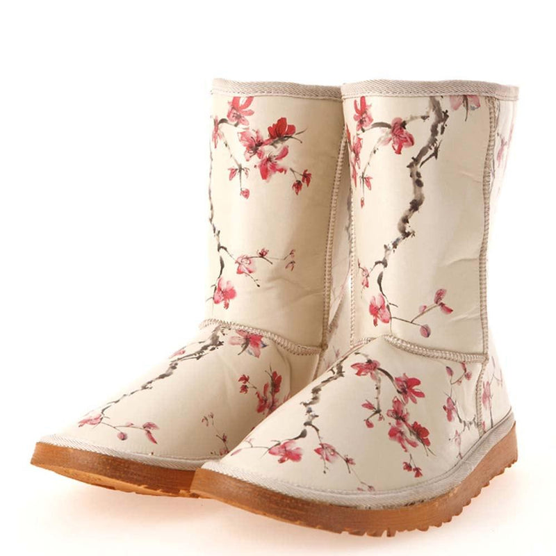 Cherry Blossom Long Boots MD024