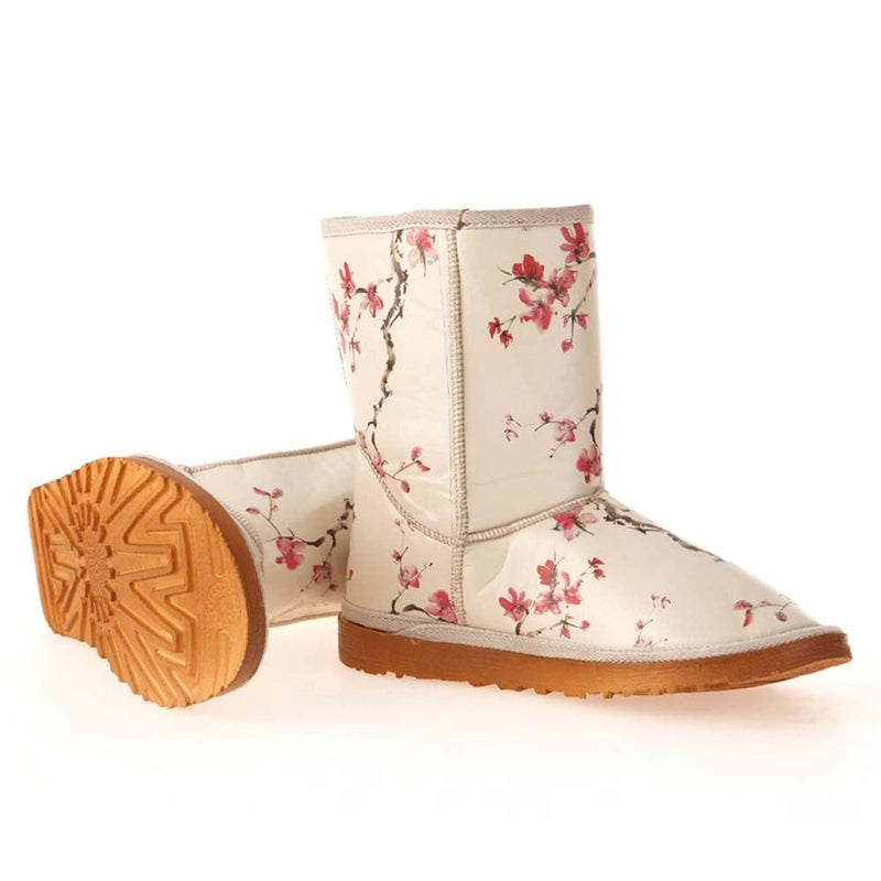 Cherry Blossom Long Boots MD024 (506269630496)