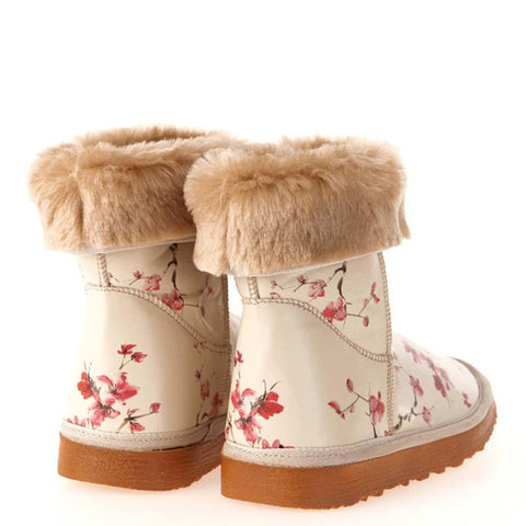 GOBY Cherry Blossom Long Boots MD024