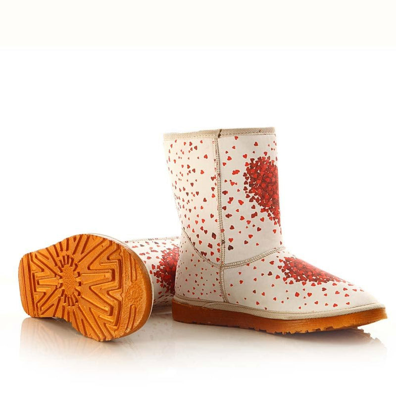 Hearts Long Boots MD026