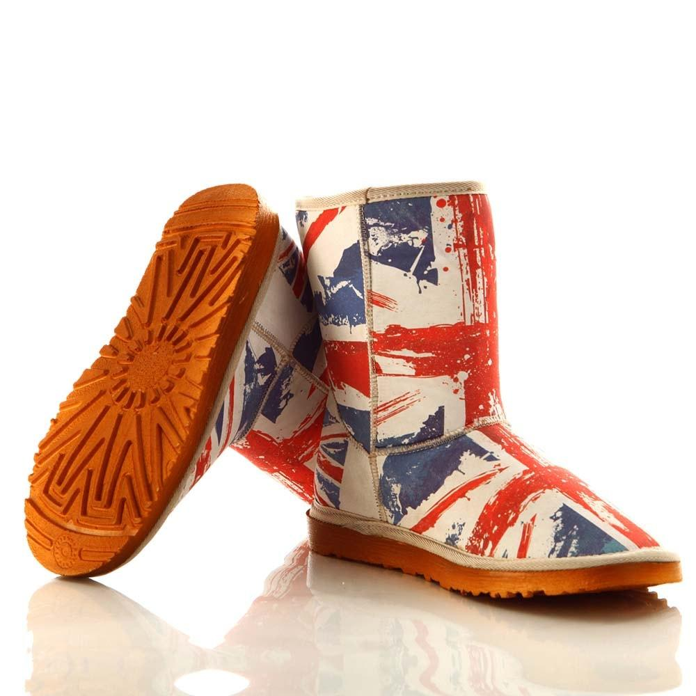 Flag Long Boots MD030 - Goby GOBY Long Boots