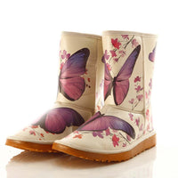 Butterfly Long Boots MD034