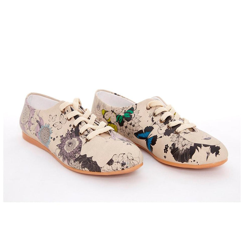 Flower Garden Ballerinas Shoes SLV060