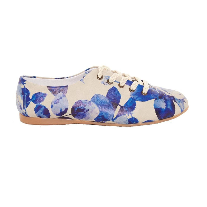 Blue Roses Ballerinas Shoes SLV063 (506274840608)