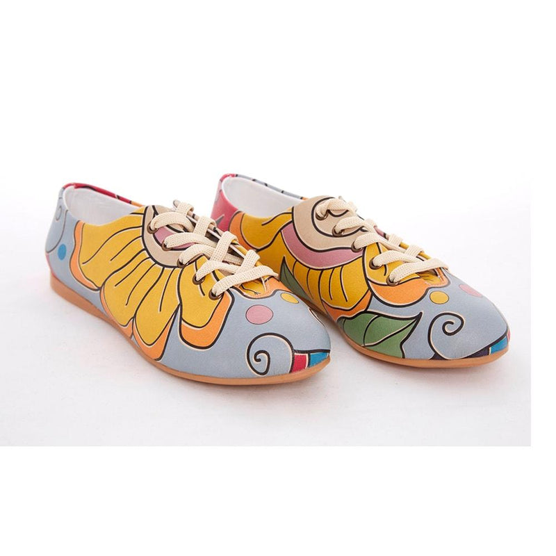 Flower Art Ballerinas Shoes SLV074
