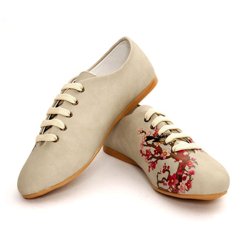 Flowers Ballerinas Shoes SLV079 - Goby GOBY Ballerinas Shoes