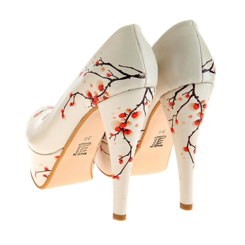 Cherry Blossom Platform Shoes and Bag Set ST7005 (1405811949664)