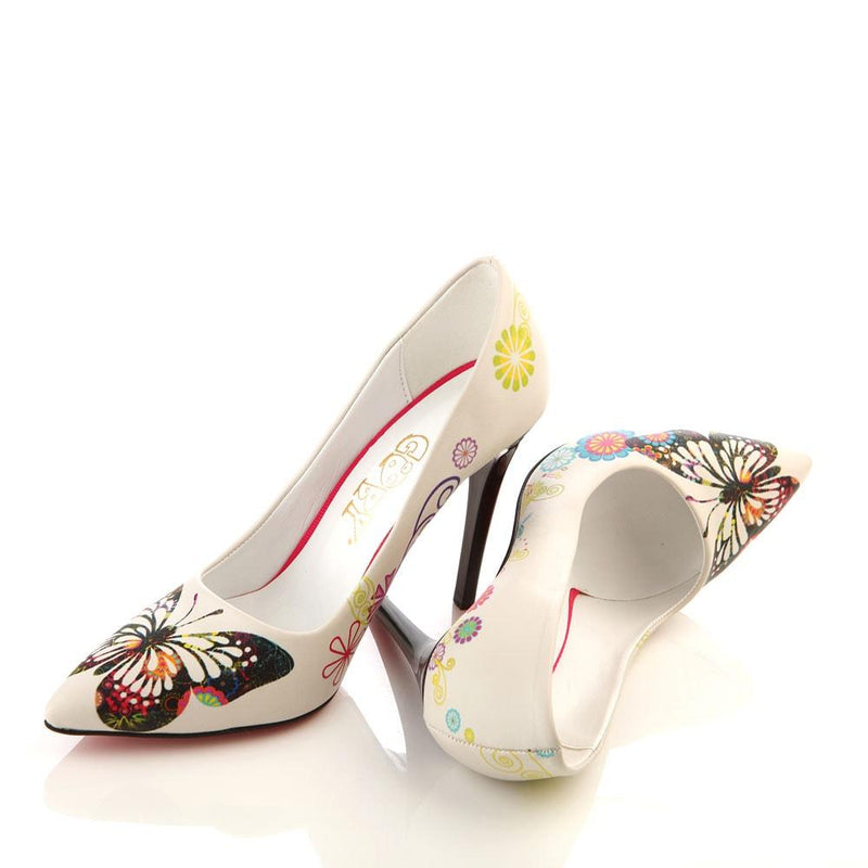 Butterfly Heel Shoes STL4002