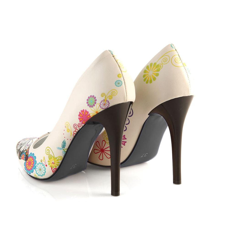 Butterfly Heel Shoes STL4002 (506276413472)