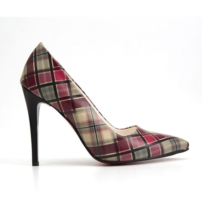 Colored Squares Heel Shoes STL4015 (506276839456)
