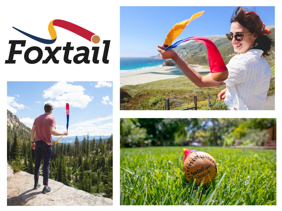 Foxtail Sport - Classic Foxtail Ball - The Original Foxtail by Cassidy Labs (Ages 8+)