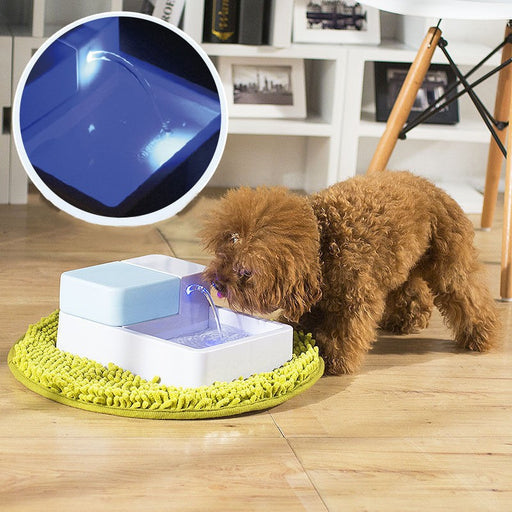 LED Pet Fountain 1.8L