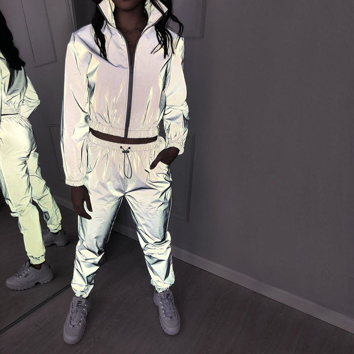 U See Me Now - Reflective Tracksuit Jacket