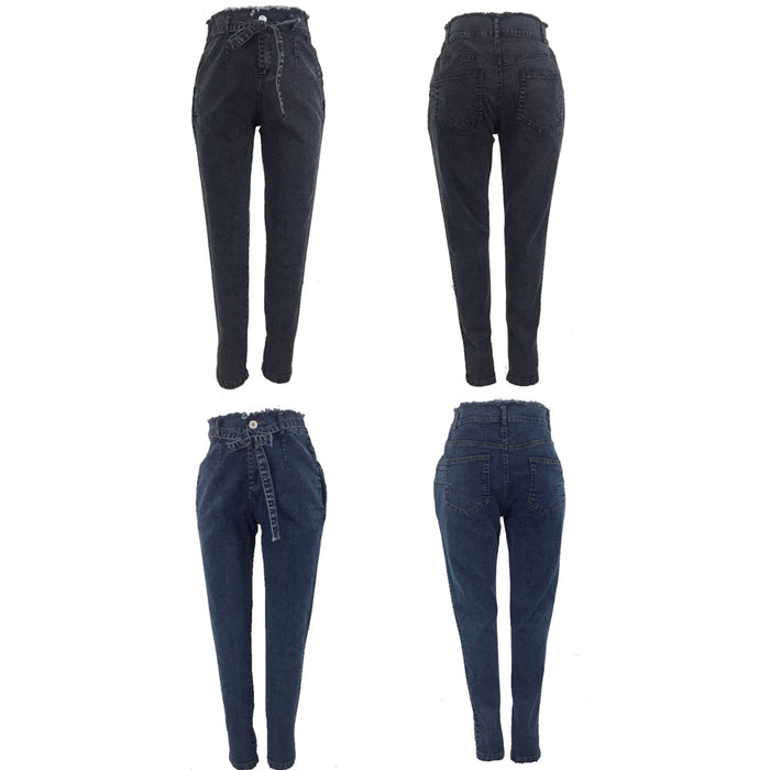 Wrapped Up High Waist Skinny Jeans