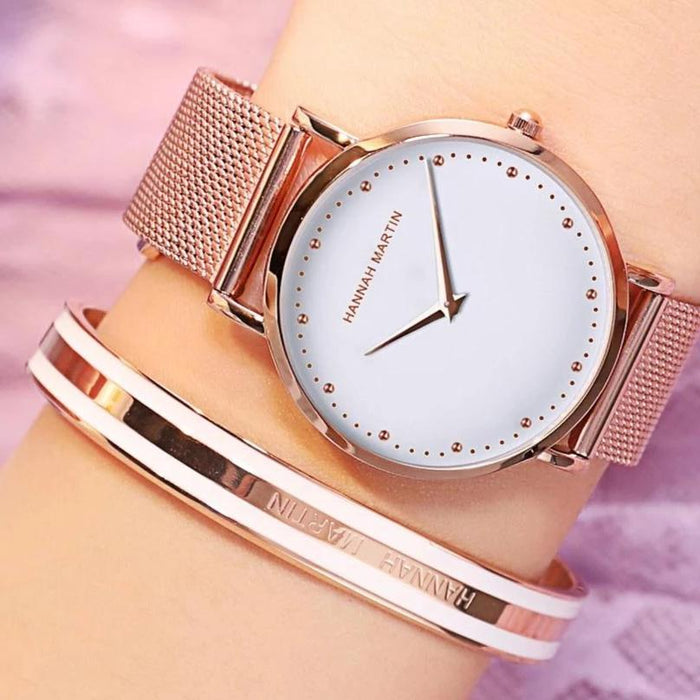 Elegance Dial Wrist Watch