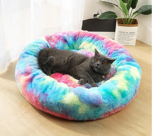 Donut Cuddle Pet Bed