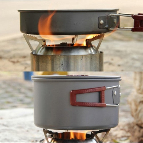 Wood Stove Lightweight Solidified Alcohol
