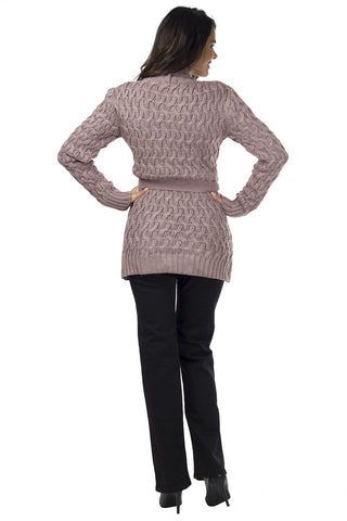 Cardigan model 65723 Quiosque