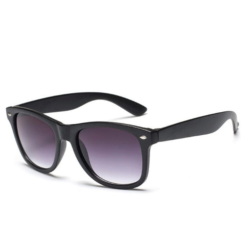 UV Protection Fashion Street Unisex Black Sunglasses