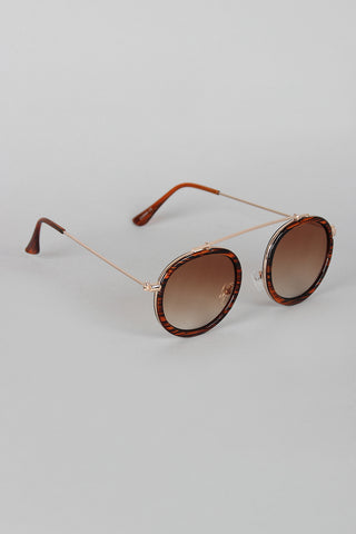 Retro Vibe Round Sunglasses
