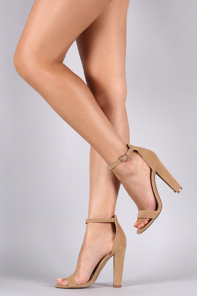 Shoe Republic Chunky Heel Dress Sandal