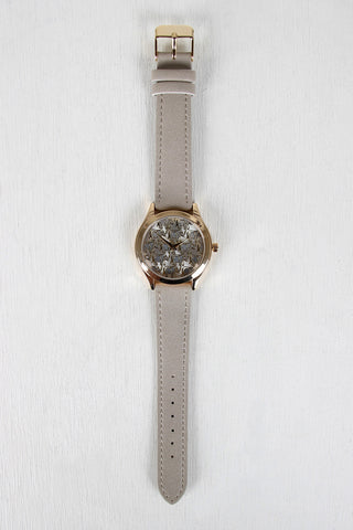 Elephant and Rhinestones Watch