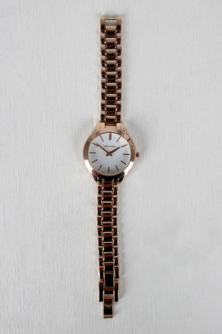 Round Bezel Boyfriend Watch